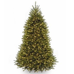 National Tree Company 7.5ft Pre-it Dunhill Fir Full Artificial Tree with Clear Lights