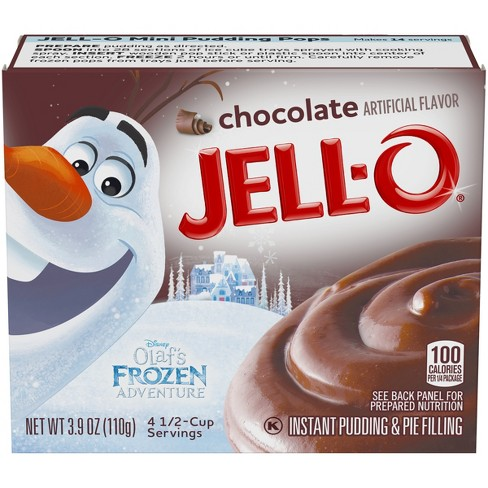 Jell-O Instant Chocolate Pudding & Pie Filling - 3.9oz - image 1 of 3