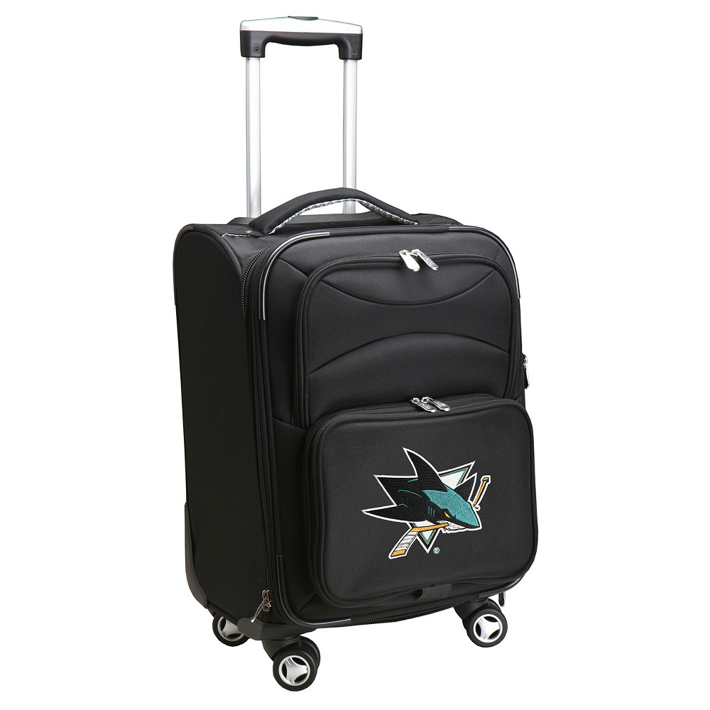 NHL San Jose Sharks Mojo Spinner Carry On Suitcase