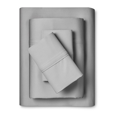 King Cotton Sheet Set Skyline Gray - Fieldcrest®