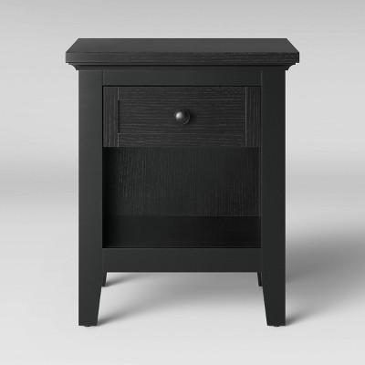 Carson End Table Black - Threshold™