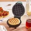 Dash Mini Maker Waffle - Aqua - image 2 of 4