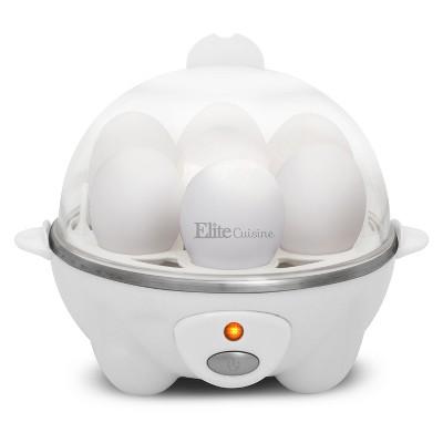 Elite Cuisine Automatic Easy Egg Cooker EGC-007
