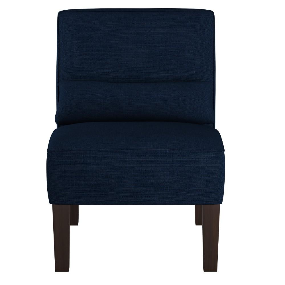 Burke Slipper Chair Linen Navy - Threshold