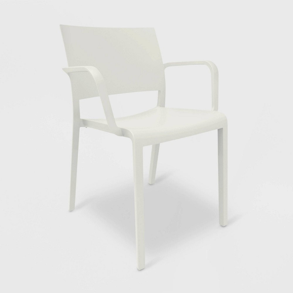 Image of New Fiona 2pk Patio Armchair - White - RESOL