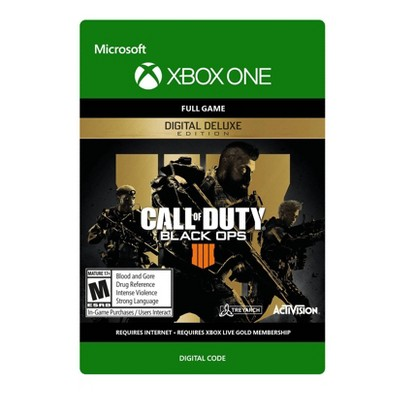 Call of Duty: Black Ops 4 Digital Deluxe Edition - Xbox One (Digital)