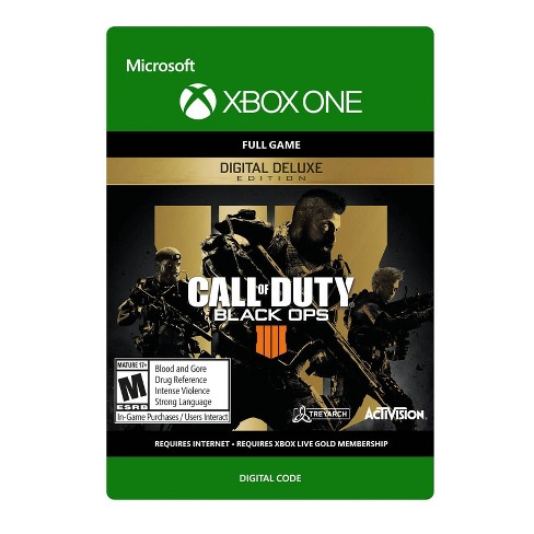 Call of Duty: Black Ops 4 Digital Deluxe Edition - Xbox One (Digital) - image 1 of 4