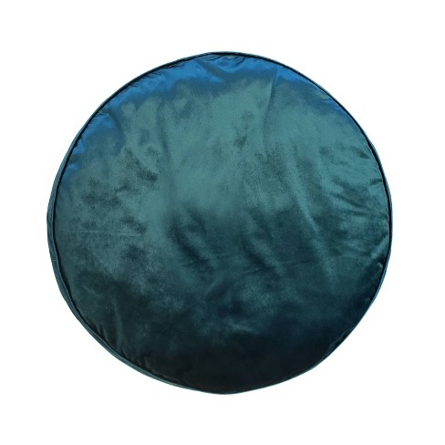 Panne Velvet Round Pillow - Edie@Home - image 1 of 1
