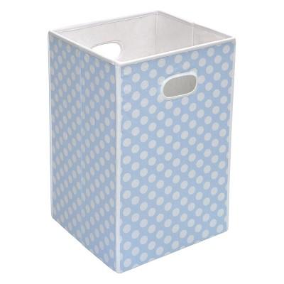 Badger Basket Folding Hamper & Storage Bin - Blue
