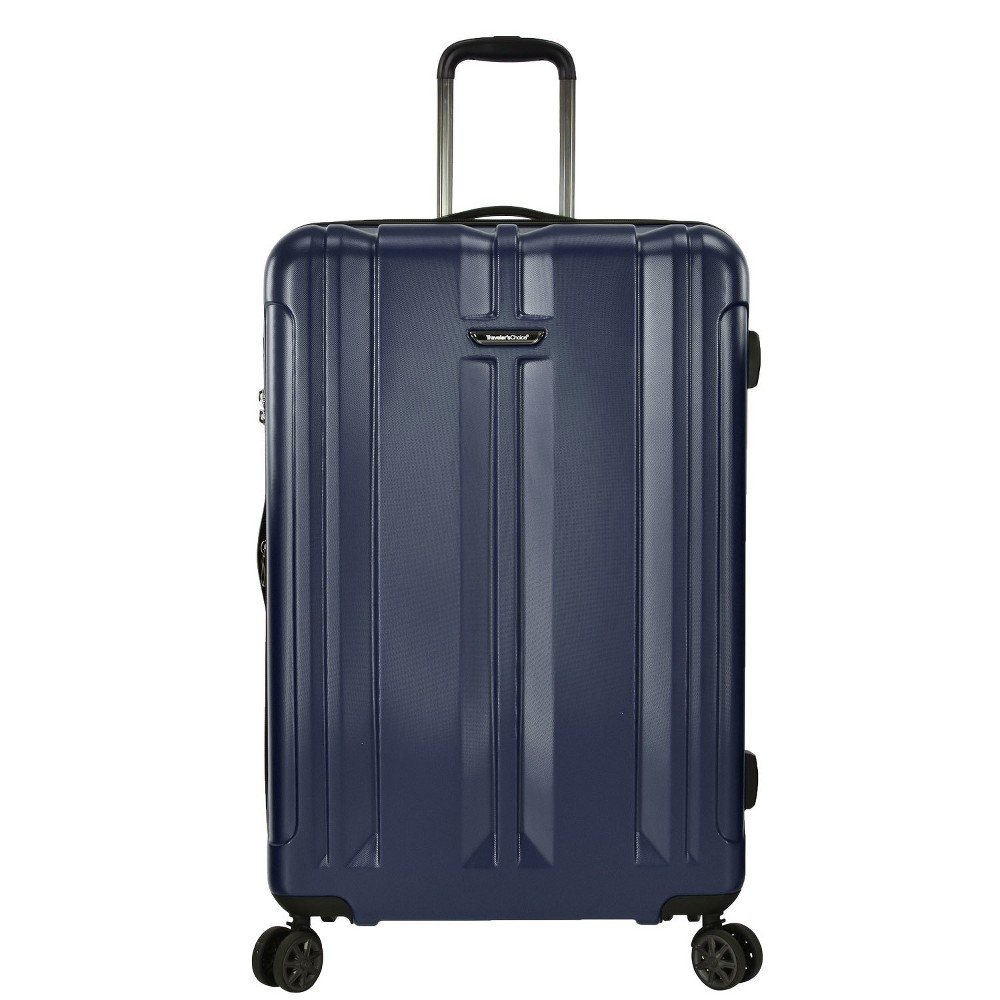 "Image of ""Traveler's Choice 30"""" La Serena Spinner Suitcase - Navy, Blue"""