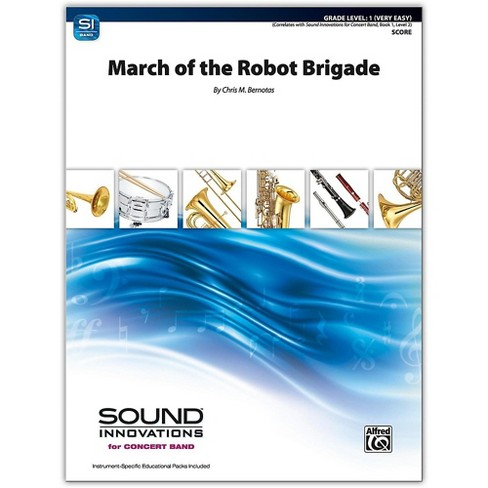 Alfred March of the Robot Brigade Conductor Score 1 (Very Easy) - image 1 of 1