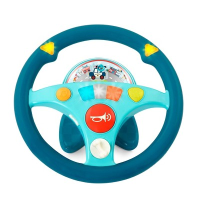 Land of B. Toy Steering Wheel - Woofer's Musical Driving Wheel