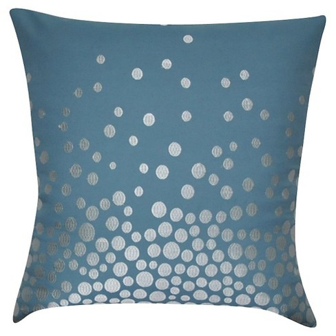 Fading Circles Throw Pillow - Loom and Mill - image 1 of 2