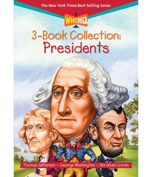 Who HQ Collection Presidents -  by Janet B. Pascal & Roberta Edwards & Dennis B. Fradin (Paperback) - image 1 of 1