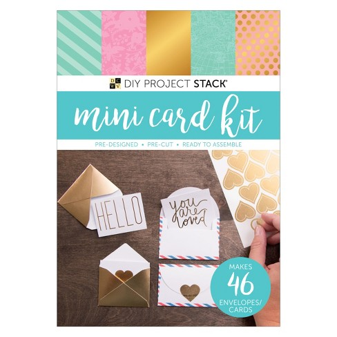 DCWV® Paper Craft Kit - Mini Cards, 46ct - image 1 of 2