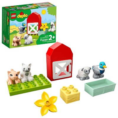 LEGO DUPLO Town Farm Animal Care Building Toy 10949