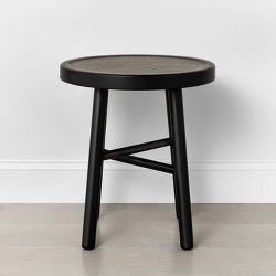 Shaker Accent Stool Black - Hearth & Hand™ with Magnolia