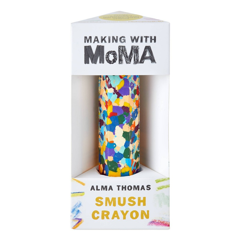Image of Art Making with MoMA Water Lilies Smush Crayon