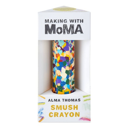 Art Making with MoMA Water Lilies Smush Crayon - image 1 of 3