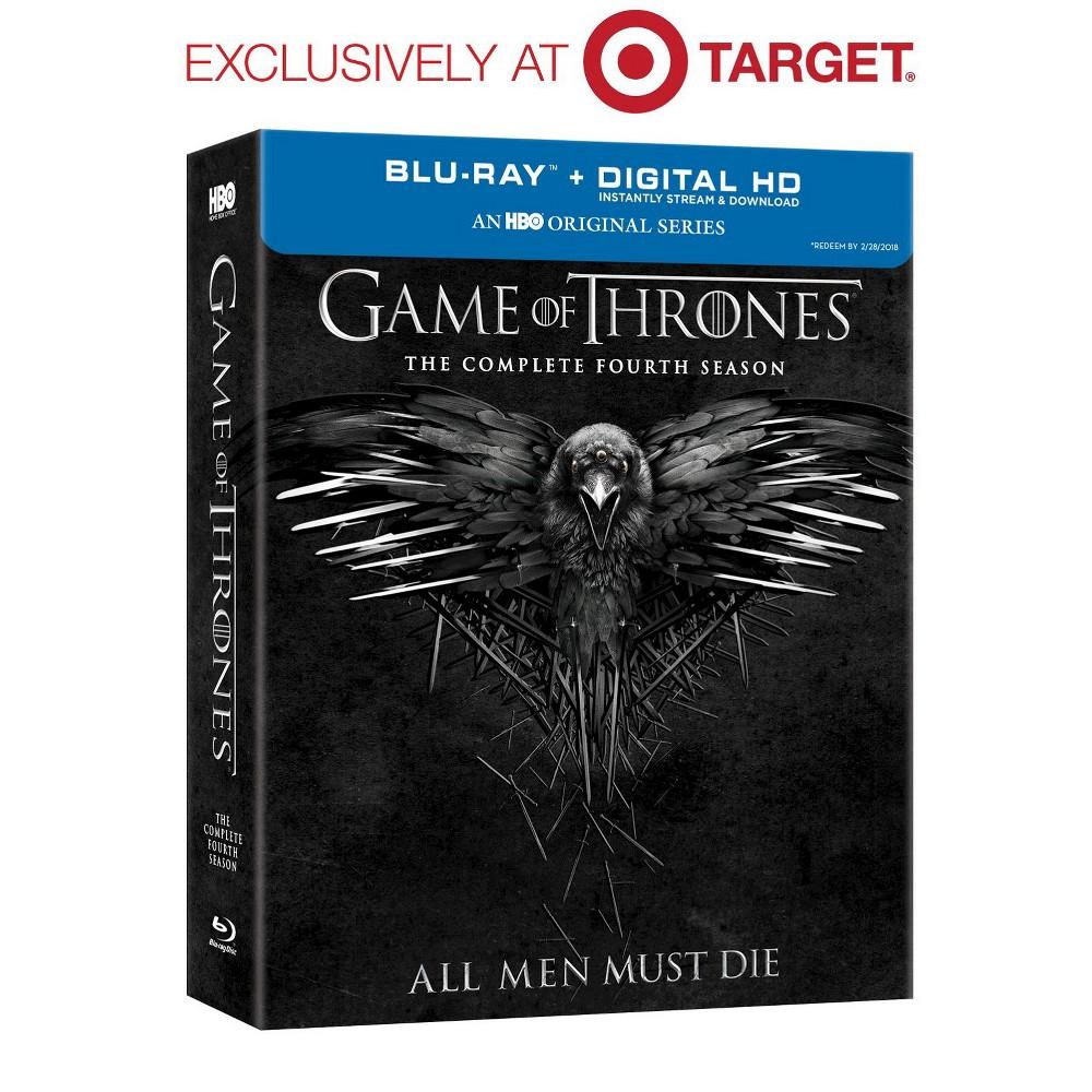 Game of Thrones Season 4 (Blu-ray) - Target Exclusive