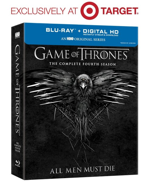 Game of Thrones Season 4 (Blu-ray) - Target Exclusive - image 1 of 2