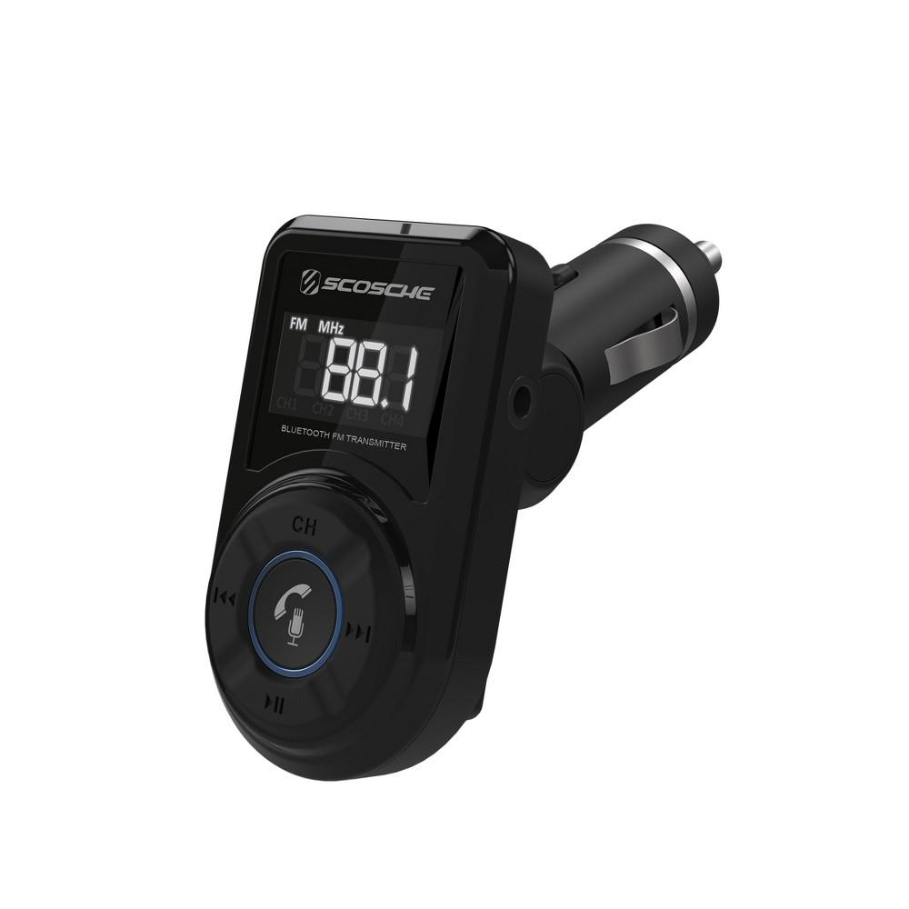 Scosche Bluetooth FM Transmitter with Usb Port - Black