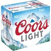 Coors Light Beer - 30pk/12 fl oz Cans - image 3 of 4