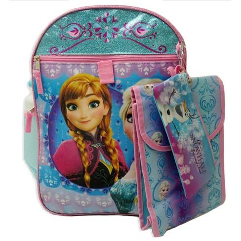 """Disney Frozen 16"""" Kids' Backpack Set - Lavender/Blue - image 1 of 4"""
