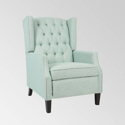 Keating Traditional Wingback Recliner - Christopher Knight Home