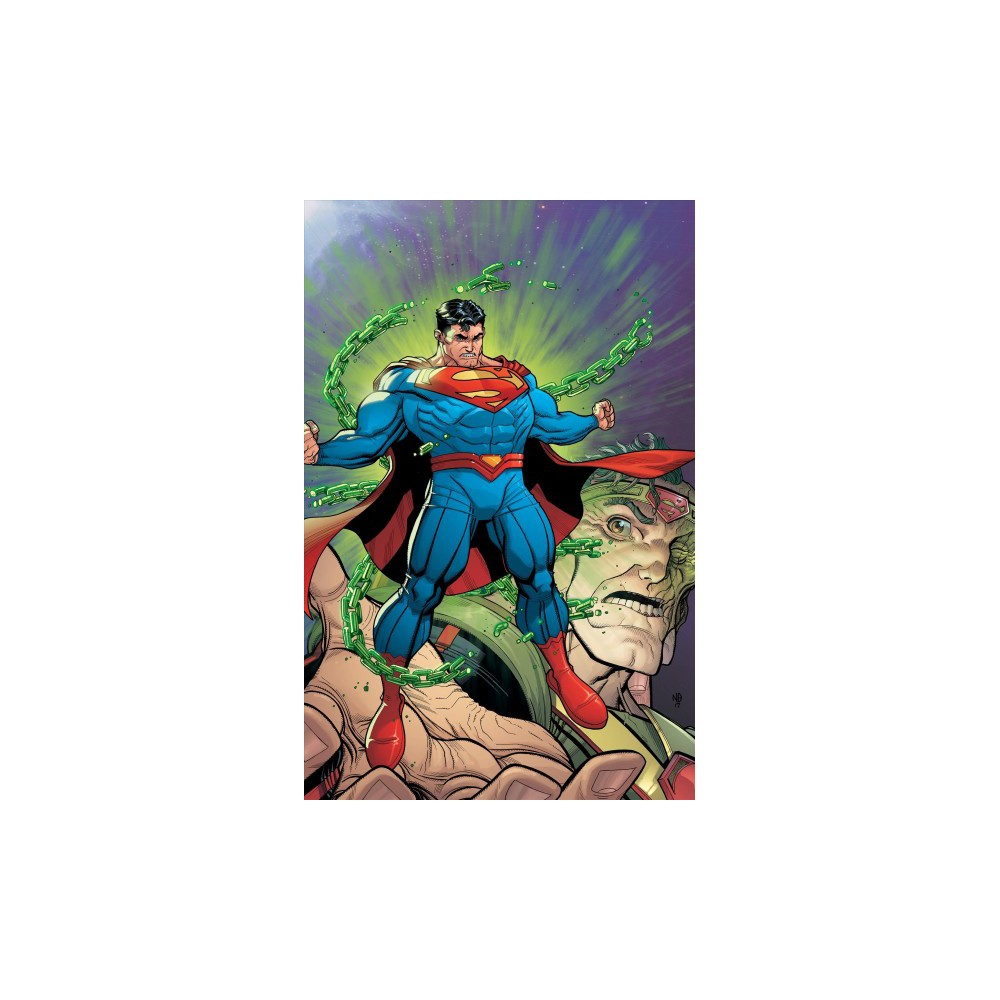 Superman Action Comics : The Oz Effect - Deluxe (Superman) by Dan Jurgens (Hardcover)
