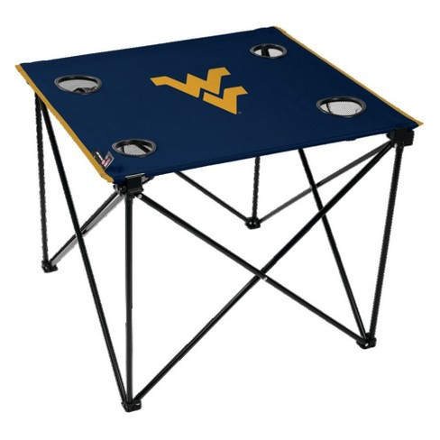 NCAA West Virginia Mountaineers Portable Table - image 1 of 1