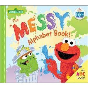 The Messy Alphabet Book! - (My First Big Storybook)(Board Book)