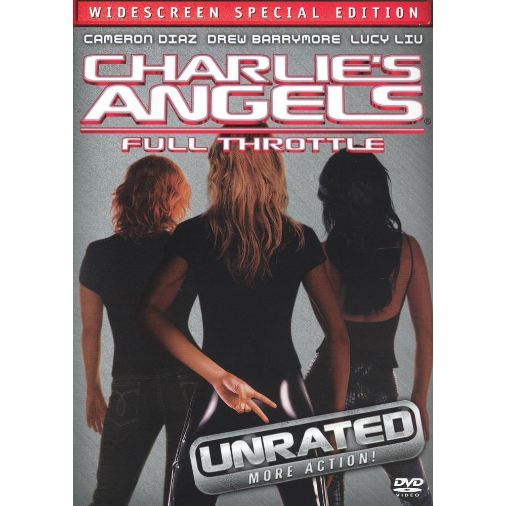 Charlie's Angels: Full Throttle (WS) (Unrated) (dvd_video)