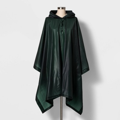 Cirra by ShedRain Women's Poncho Rainsuit - Forest