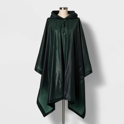 Cirra by ShedRain Women's Poncho Rainsuit - Forest - image 1 of 2