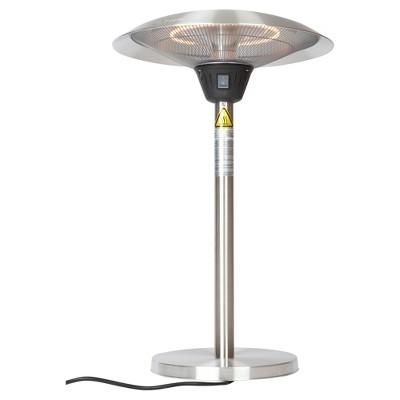 Cimarron Stainless Steel Table Top Halogen Patio Heater   Stainless Steel   Fire  Sense : Target