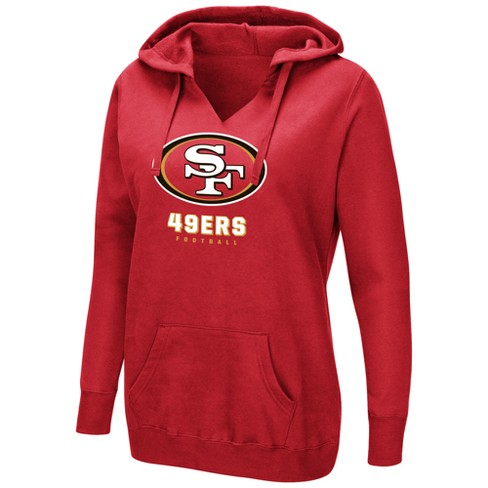 19d0f618 San Francisco 49ers Women's Shape It Up Plus Size Hoodie