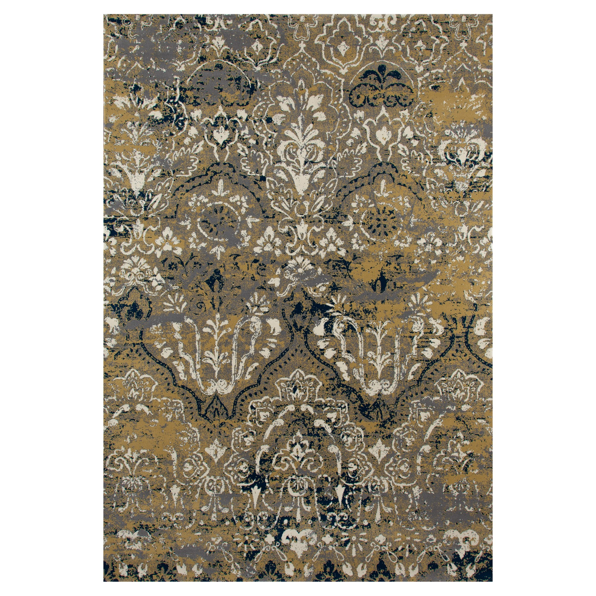 Yellow Classic Woven Area Rug - (7'X10') - Art Carpet