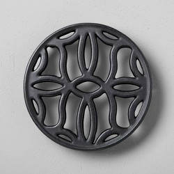 Cast Iron Trivet Black - Hearth & Hand™ with Magnolia