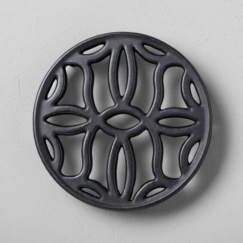Cast Iron Trivet Black - Hearth & Hand™ with Magnolia - image 1 of 1