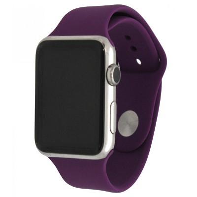 Olivia Pratt Solid Silicone Apple Watch Band