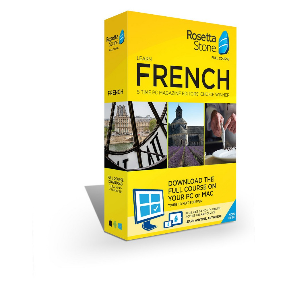 Rosetta Stone French Home/office Software Rosetta Stone French Home/office Software