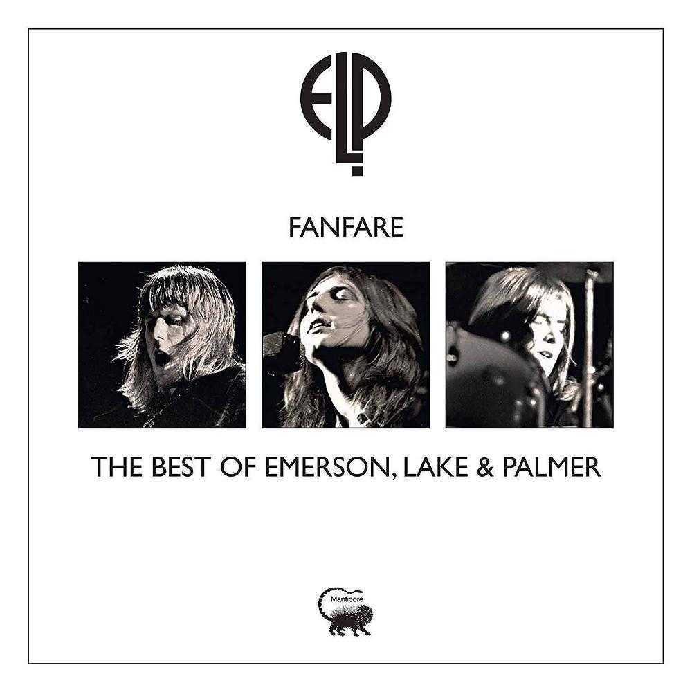 Emerson Lake Palmer Fanfare The Best Of Emerson Lake Palmer Cd