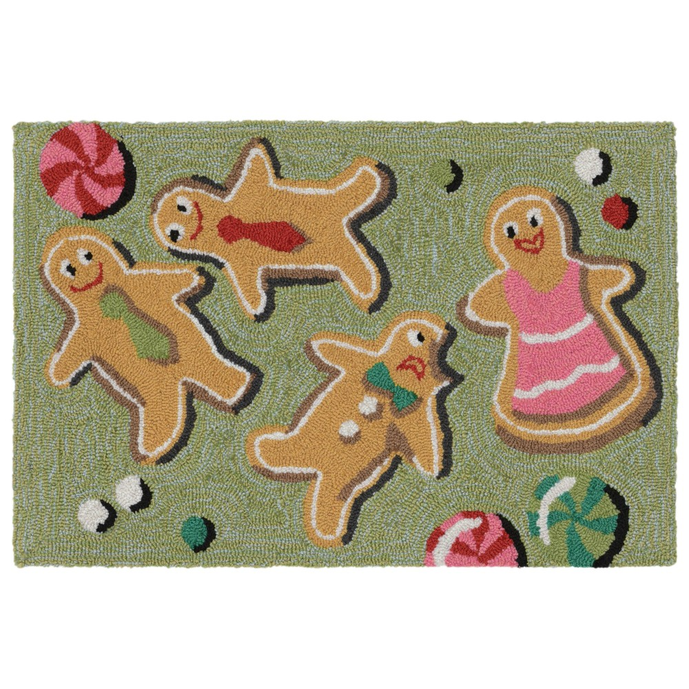 """Image of """"1'8""""""""X2'6"""""""" People Tufted Accent Rug - Liora Manne"""""""