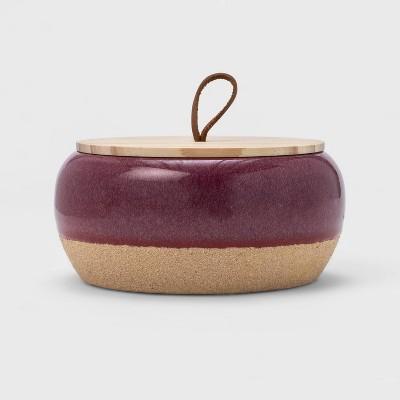 15oz Large Round Ceramic Citronella Candle - Threshold™