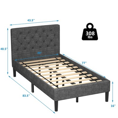 Twin Bed Frames Mattress, How Much Is A Twin Bed Frame