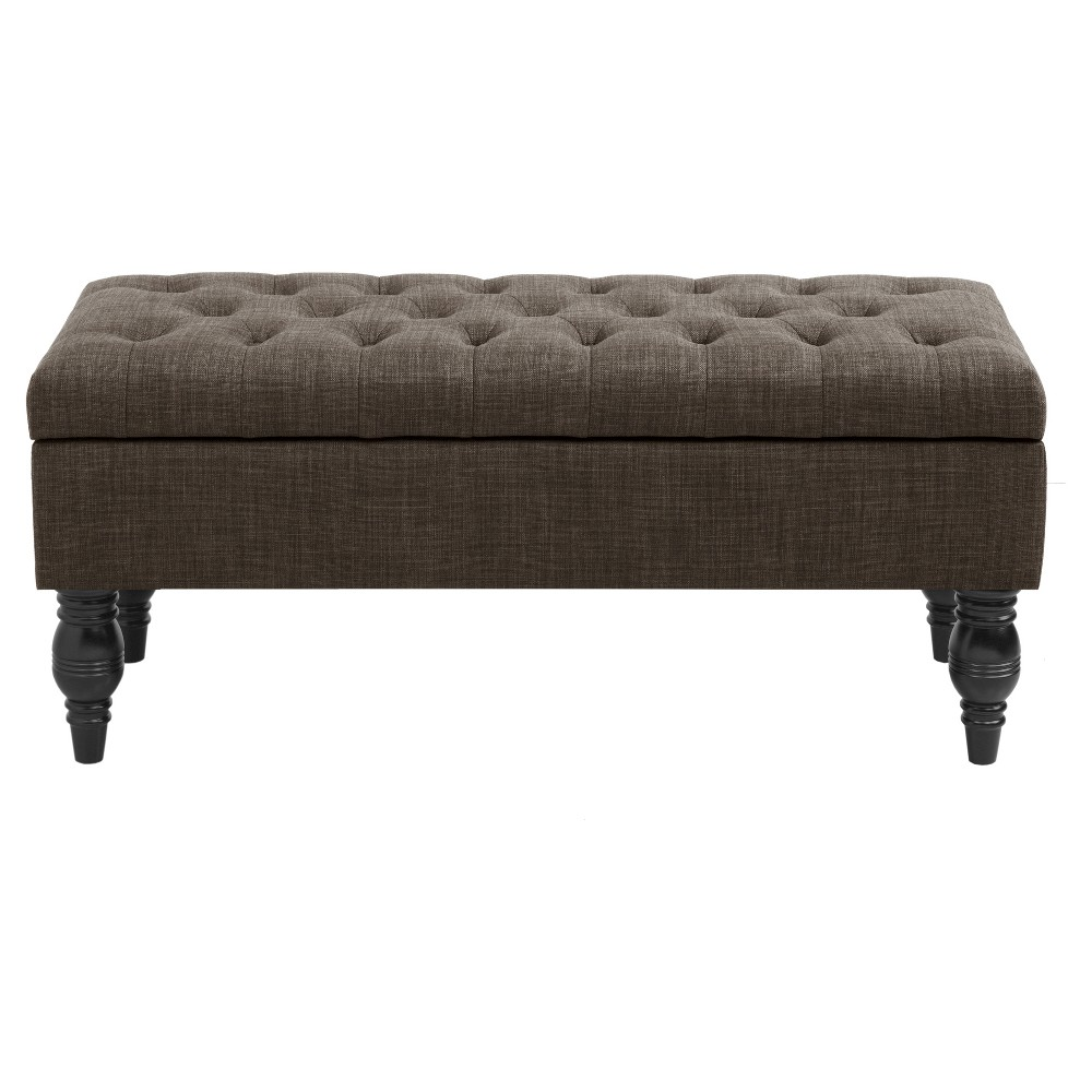Jaxton Bench Charcoal - Home, Rich Charcoal