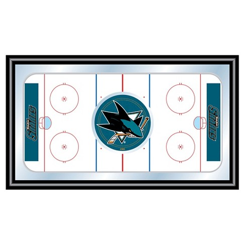 San Jose Sharks Team Logo Wall Mirror - image 1 of 1