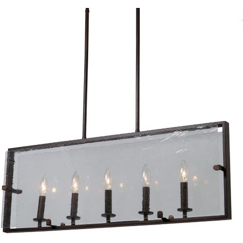 "Artcraft Lighting AC10304 Harbor Point 5 Light 32"" Wide Taper Candle Linear Chandelier - image 1 of 1"