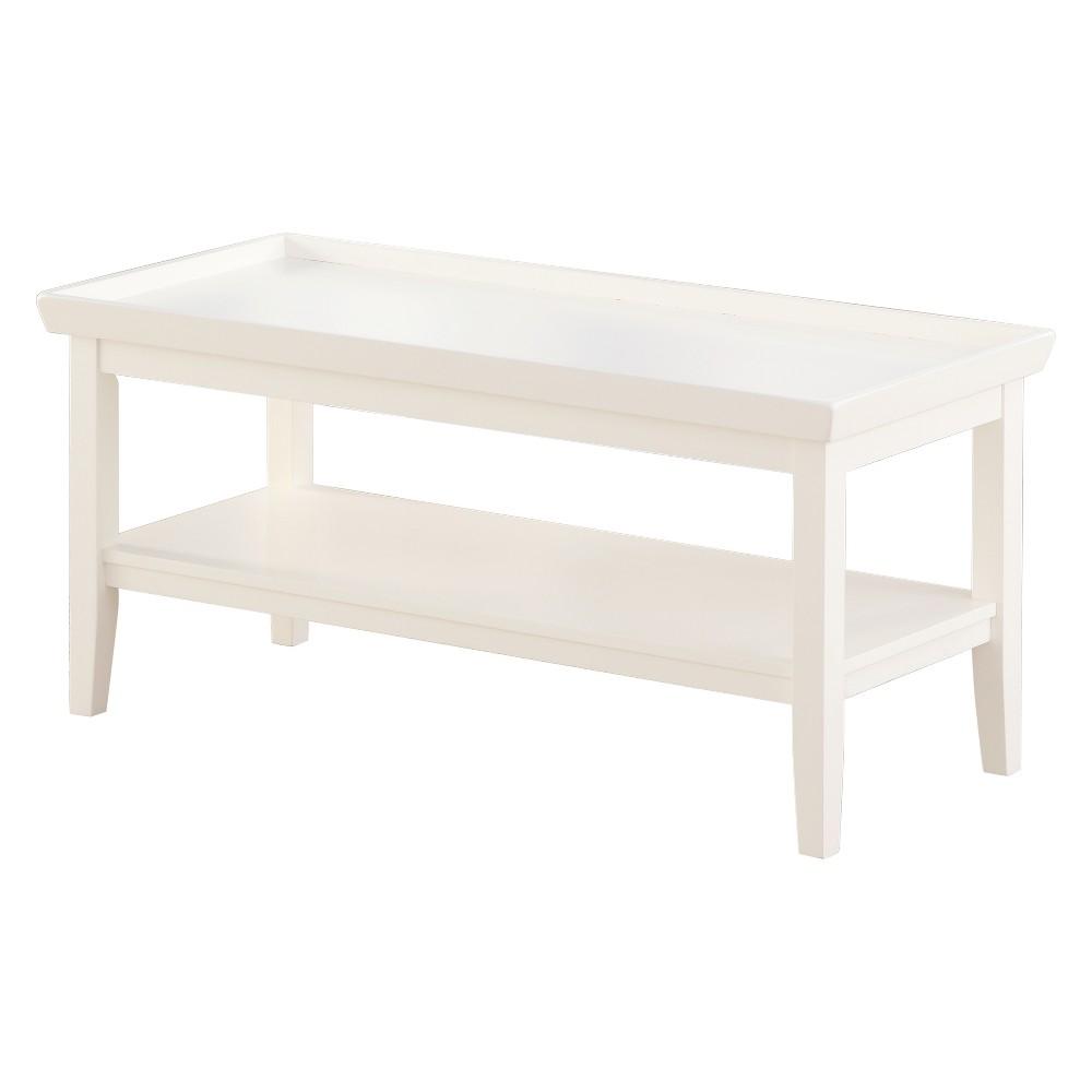 Ledgewood Coffee Table  - Johar Furniture Ledgewood Coffee Table White - Johar Furniture